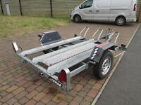 ERDE 3 BIKE MOTORCYCLE TRAILER EXCELLENT CONDITION