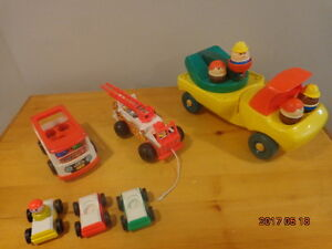 Vintage Fisher-Price & Little Tykes Vehicles:  All for $15!