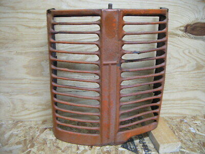 Original 1947 Case Vac Tractor Front Radiator Grill Front Nose Cover Antique S
