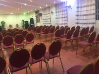 Halls for rentals Banquetting or churches or birthdays or wedding or conferences