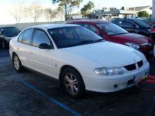 2001 Holden Commodore VX Lumina White 4 Speed Automatic Sedan Moorabbin Kingston Area Preview