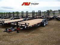 NEW 20' Construction Trailer