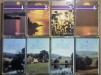 A-Z CSL READER'S DIGEST QUIET MUSIC 4 QUIET LISTENING PEACE IN THE VALLEY PRERECORDED CASSETTE TAPES