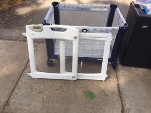 Moving sale - playpen and gate