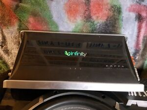 800 Watt Infinity Kappa One Amplifier