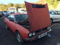 Classic car 1981 Lancia Beta 2000, starts, brakes are seized, car located in Gravesend, any question
