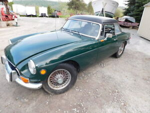 1973 MGB for sale by ONLINE AUCTION