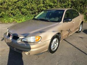 2003 PONTIAC GRAND AM 4 CYL (((106 218 KM)))GARANTIE 1 AN