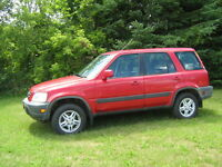 2000 Honda CR-V SUV,  TRADE FOR MOTORCYCLE