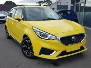 2019 MG MG3 Yellow Automatic Hatchback Hoppers Crossing Wyndham Area Preview