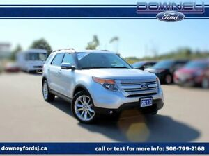 2013 Ford Explorer Limited 4x4 DVD Nav Leather Htd Sts Sun Roof