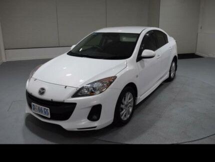 2012 Mazda 3 BL MY13 Maxx Sport White 5 Speed Automatic Sedan