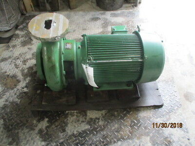 Deming Pump With Motor Mod Dc-912253 8 1231915c New Old Stock