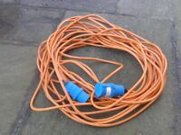 Heavy Duty 25m Caravan Hook Up Extension Cable / Lead 240V 3 pin