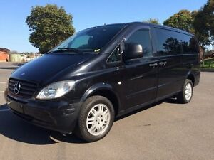 2008 Mercedes-Benz Vito MY08 115CDI 5 Speed Automatic Wagon Clarence Gardens Mitcham Area Preview