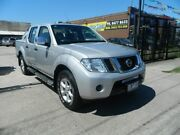 2011 Nissan Navara D40 Series 4 ST-X (4x4) Silver 6 Speed Manual Williamstown North Hobsons Bay Area Preview