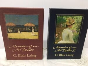 G. Blair Laing, Memories of an Art Dealer, original 2 volume set