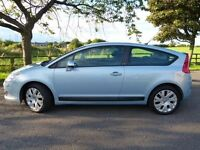 2006 55 Plate Citroen C4 1.6 HDI VTR+ Coupe. Diesel, 99000 Miles, Service History,12 Mths MOT