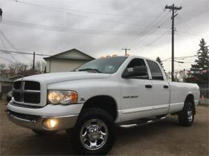 2003 Dodge Ram 3500 LARAMIE 5.9L DIESEL 4X4= LONG BOX ONE OWNER