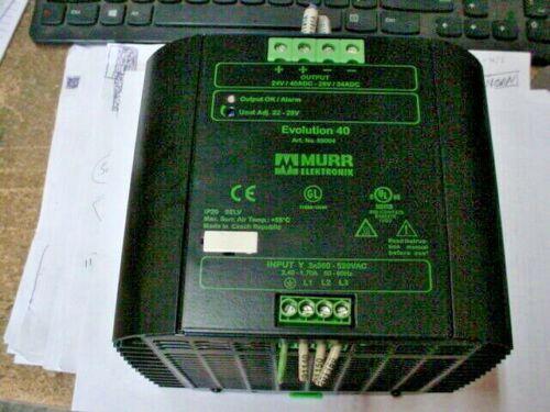 Murr Elektronik Evolution 40 Switching Power Supply Power Supply 85004