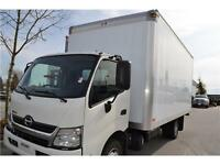 2015 Hino 195 with 18' Van Body - Ready to Work for You