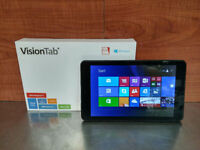 "Tablette Windows 10 8"" Quad Core état NEUF"
