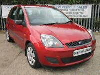 FORD FIESTA 1.4 STYLE CLIMATE RED 2007 (07) ONLY 63K FSH 9 X STAMPS / 1YR MOT!!!