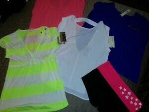 LOT OF 5 NEW WOMENS TEES/BLOUSES SZ M/L $25 EACH OR ALL FOR $100