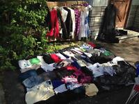 GRAND lot de vêtement pour femme/homme 75 morceaux/ 40$ ou 1$/ch
