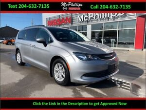 2017 Chrysler Pacifica LX - STOW n GO / REAR CAMERA / REMOTE STA