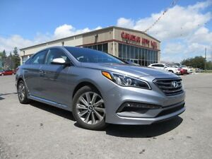 2016 Hyundai Sonata SPORT TECH, NAV, ROOF, LEATHER, 23K!