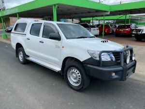 2014 Toyota Hilux SR 4x4 White 4 Speed Automatic Dual Cab Casino Richmond Valley Preview