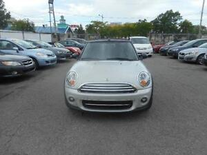 MINI COOPER CONVERTIBLE 2012 ( BLUETOOTH, BAS KILOMÉTRAGE )