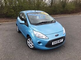 2009 FORD KA STYLE BLUE PETROL 63,000 MILES TWO OWNERS £30 ANNUAL ROAD TAX £2995 OLDMELDRUM