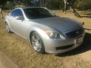 2007 Nissan Skyline CKV36 370GT Silver 5 Speed Sports Automatic Coupe Underwood Logan Area Preview