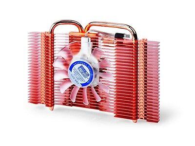 PcCooler K82U HDT VGA Video Card Cooler (Cooling Fan & Heatsink) w 2 x Heatpipe