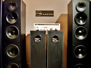 nuance HOME THEATER POWERED TOWER SPEAKERS Edmonton Edmonton Area image 6