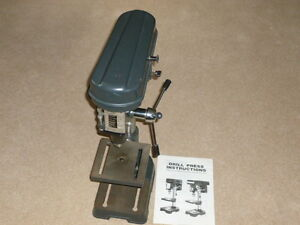 Gentely used tabletop drill press