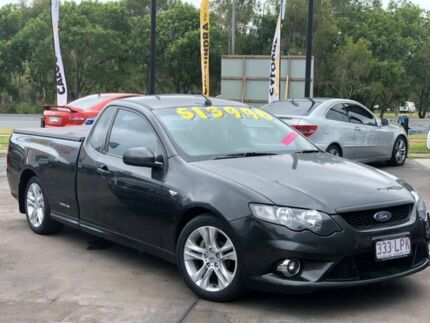 2009 Ford Falcon FG XR6 Ute Super Cab Grey 5 Speed Sports Automatic Utility Caloundra Caloundra Area Preview
