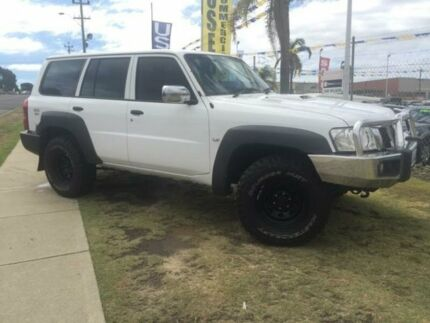 2007 Nissan Patrol GU 6 MY08 DX White 4 Speed Automatic Wagon Wangara Wanneroo Area Preview