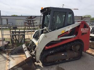 2011 TAKEUCHI TL230C COMPACT TRACK LOADER-CAB WITH HEAT AND A/C