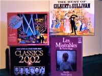 PAVAROTTI, DOMINGO, C CHURCH, BRIGHTMAN, WEBBER, GARRETT, MUSICALS, GILBERT &S + MORE CASSETTE TAPES