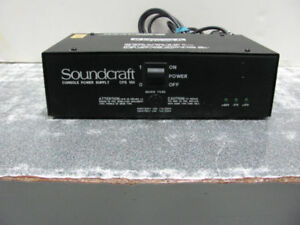 Soundcraft CPS150 Broadcast Console