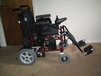 Enigma Energi (PC18) PowerChair - with Leg Elevators.