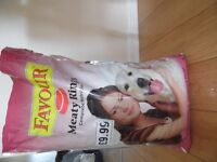 ***DOG FOOD!!! MEATY RINGS COMPLETE NUTRITION!!! ****