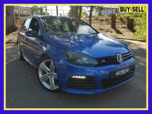 2012 Volkswagen Golf VI MY12.5 R Blue Sports Automatic Dual Clutch Hatchback Lansvale Liverpool Area Preview