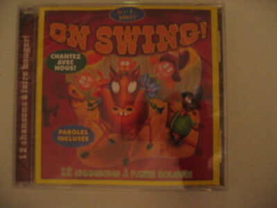FRENCH SONGS CD ON SWING! MUSIC CHILDREN KIDS BABY LEARNING LYRICS INCLUDED