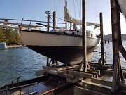 Timber yacht classic Arrantique Palm Beach Pittwater Area Preview