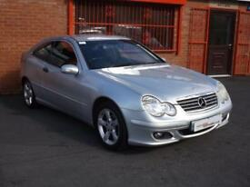 2004 54 MERCEDES-BENZ C CLASS C180 KOMPRESSOR SE SPORTS 1.8 3D AUTO