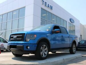 2014 Ford F-150 FX4, 5.0L V8, H/C Front Seats, 402A, Roof, Leath